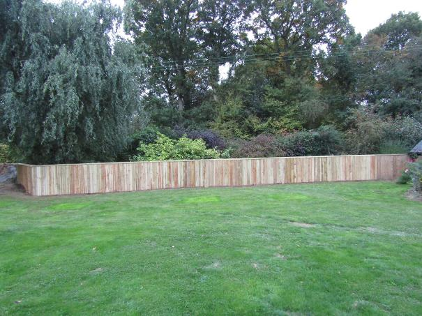 Flood Divert fencing